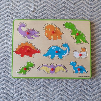 Lift Out Puzzle - Dinosaurs