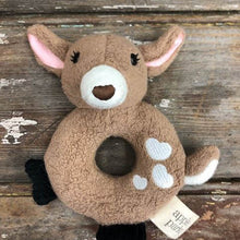 Load image into Gallery viewer, Apple Park's - Organic & Soft Fawn Rattle
