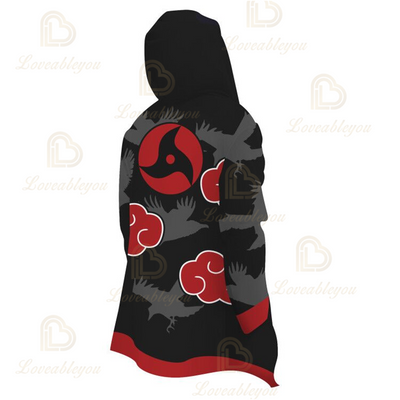 Anime Cosplay Akatsuki Shalingan Cloak