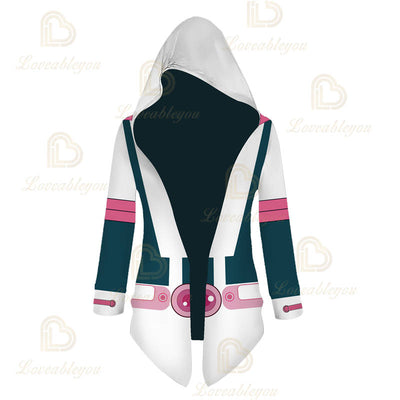 Anime Cosplay  OCHACO URARAKA Cloak