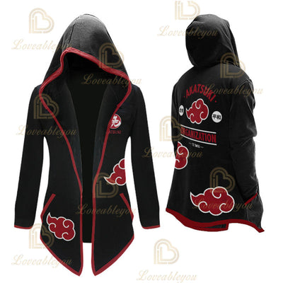 Anime Uchiha Cosplay Overcoat