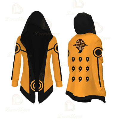 Anime Cosplay Kurama Overcoat