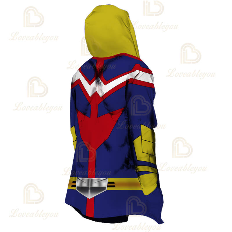 Anime Cosplay All Might Overcoat