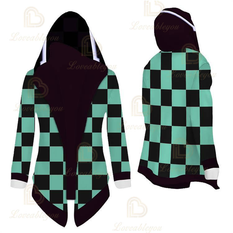 Anime Demon Slayer:Kimetsu no Yaiba Cosplay Overcoat