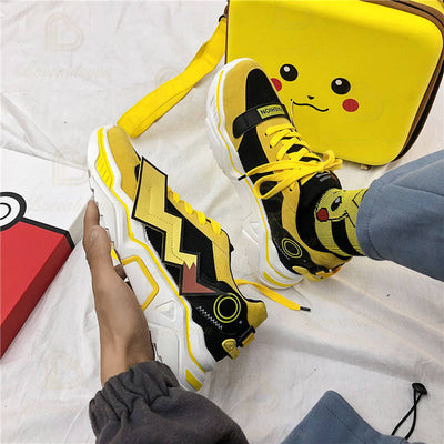 Handmade POK Pikachu Shoes