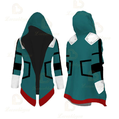 Anime Cosplay  Deku Overcoat