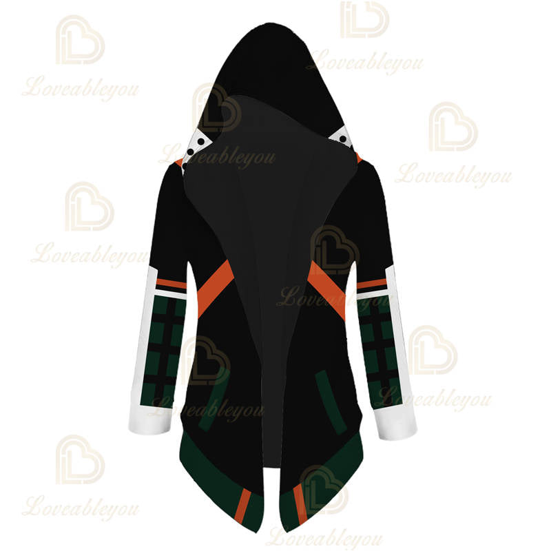 Anime Cosplay Bakugou Katsuki Overcoat