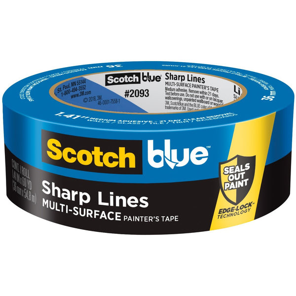 3M 2093 Sharp Lines Painter's Tape 1.41 in. x 60.1 yd.