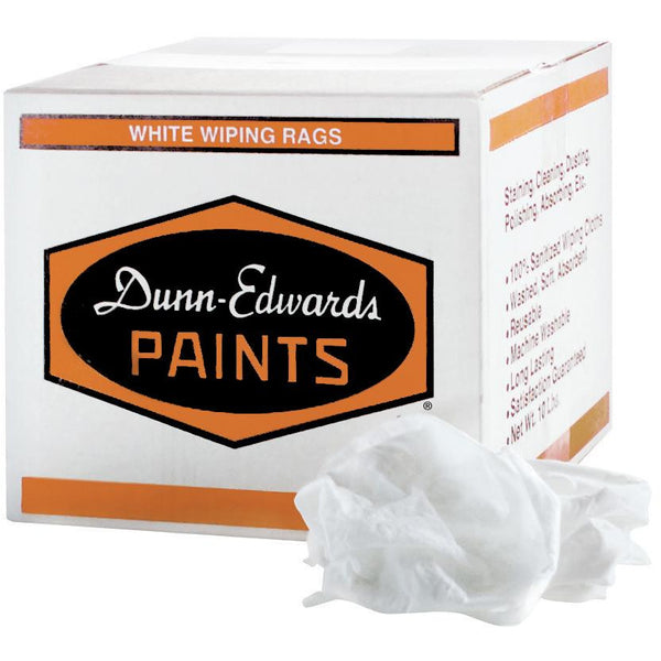 Dunn-Edwards All-Purpose Balbrigon White Rags, 10lbs