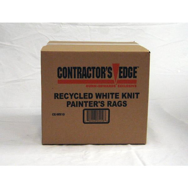 Contractor's Edge All-Purpose White Rags, 10lbs