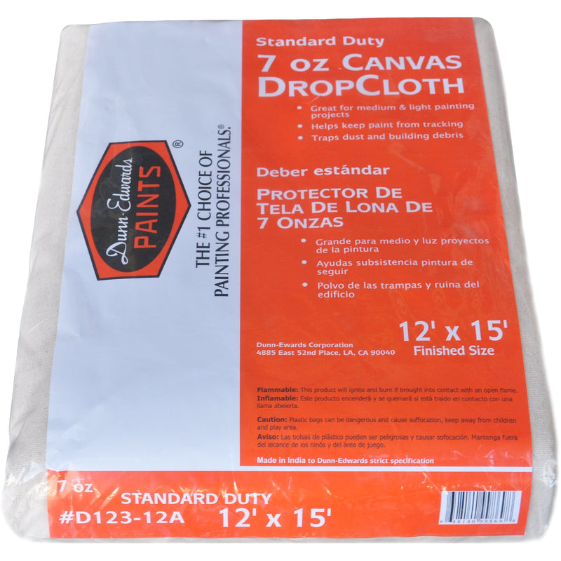Dunn-Edwards Medium Duty Canvas Drop Cloth