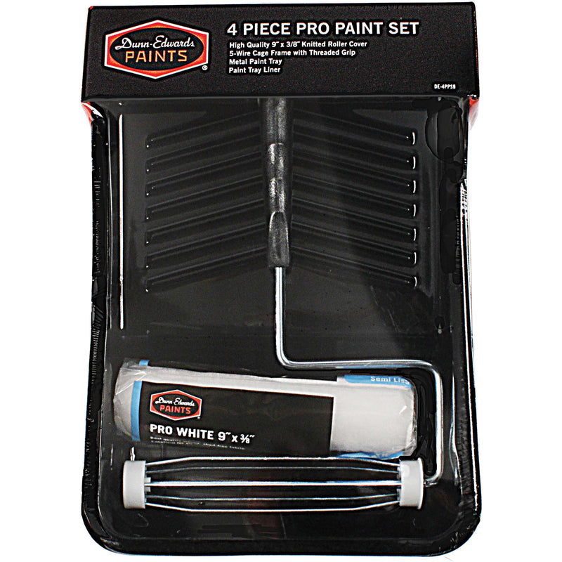Dunn-Edwards Professional 4-Piece 9 in. Paint Tray Kit