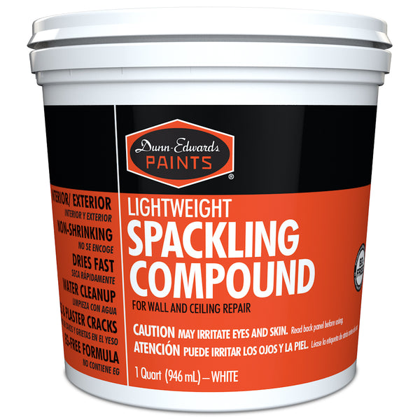 Dunn-Edwards Lightweight Spackling Compound, quart
