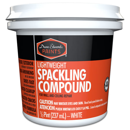 Dunn-Edwards Lightweight Spackling Compound, pint