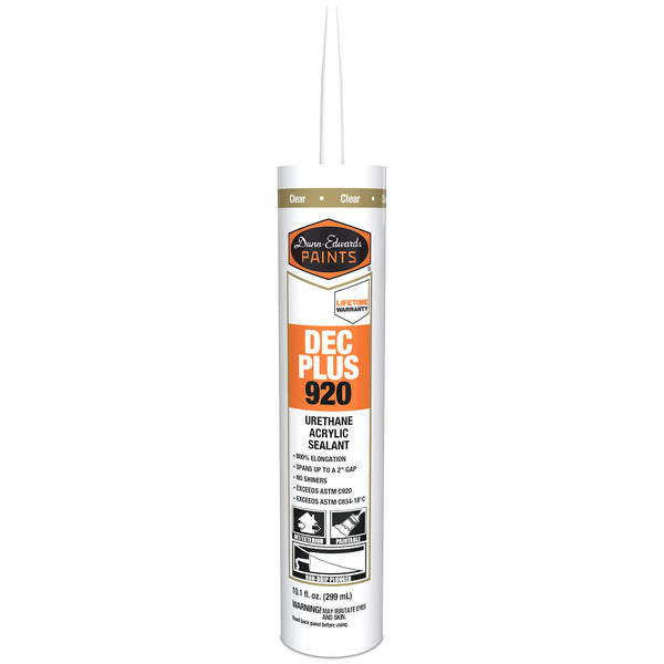 Dunn-Edwards Urethane Acrylic Caulk Clear