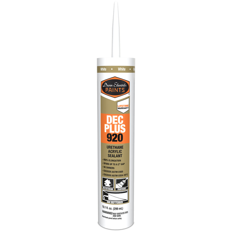 Dunn-Edwards Urethane Acrylic Caulk White