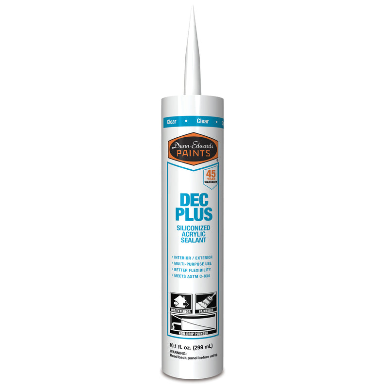 Dunn-Edwards Acrylic Plus Caulk Clear