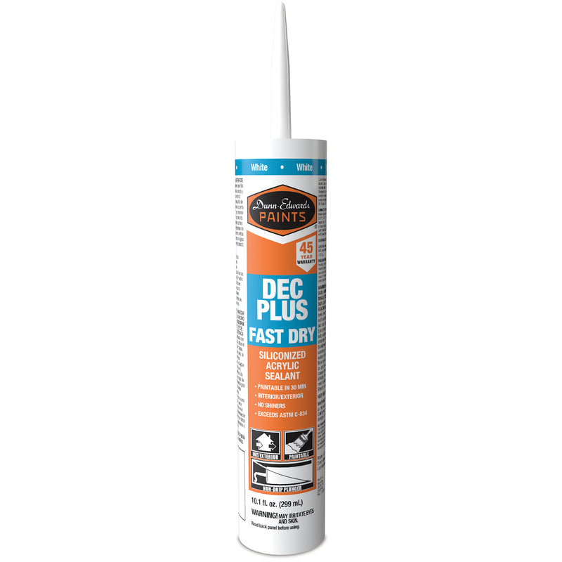 Dunn-Edwards Acrylic Plus Fast Dry Caulk
