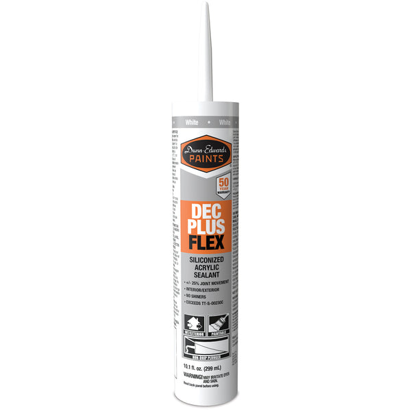 Dunn-Edwards Acrylic Plus Flex Caulk