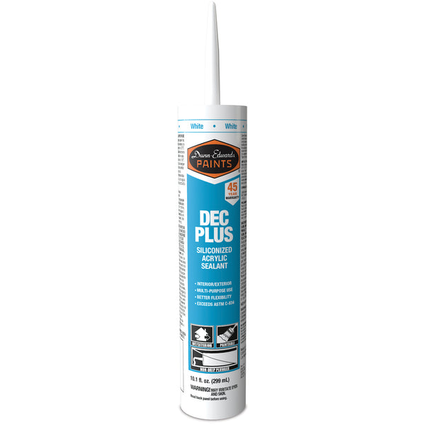 Dunn-Edwards Acrylic Plus Caulk White