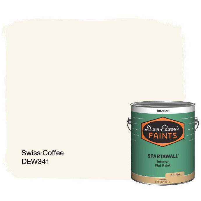 SPARTAWALL® Premium Zero & Ultra-Low VOC Interior Acrylic Paint, SWISS COFFEE