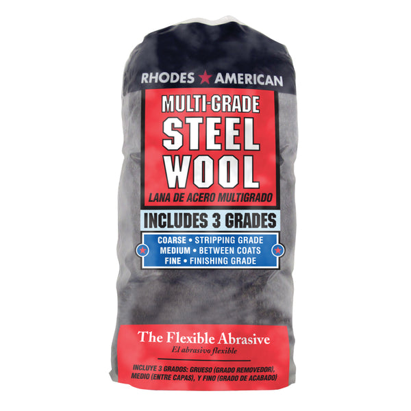 Homax Multi-Grade Steel Wool (12-Pack)