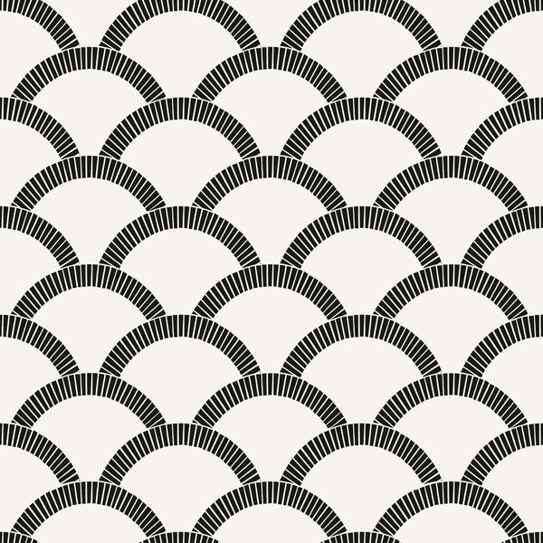 Tempaper® Removable Wallpaper in Mosaic Scallop