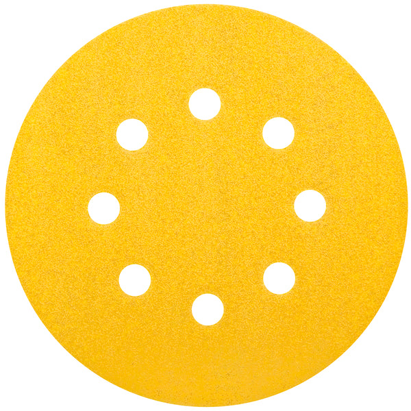 Norton Hook & Sand Abrasive 5 in. Disc (25 Pack)