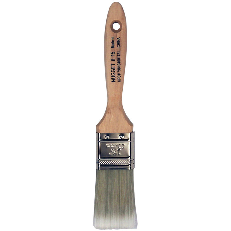 Contractor's Edge Nugget II 1 1/2 in. Synthetic Painters Brush