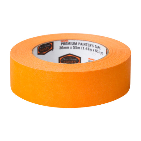 Dunn-Edwards 1.41 in. x 60 yards Premium Orange Masking Tape