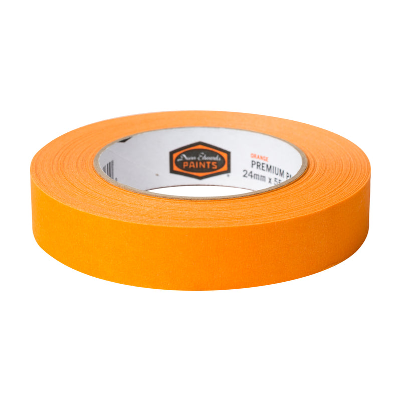 Dunn-Edwards .94 in. x 60 yards Premium Orange Masking Tape