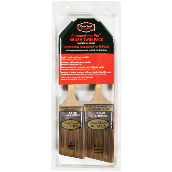 Dunn-Edwards Summertime-Pro Brush Twin Pack