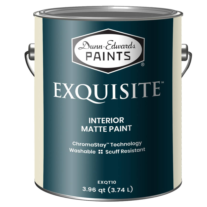 EXQUISITE™ Deluxe Ultra-Low VOC Interior Matte Paint