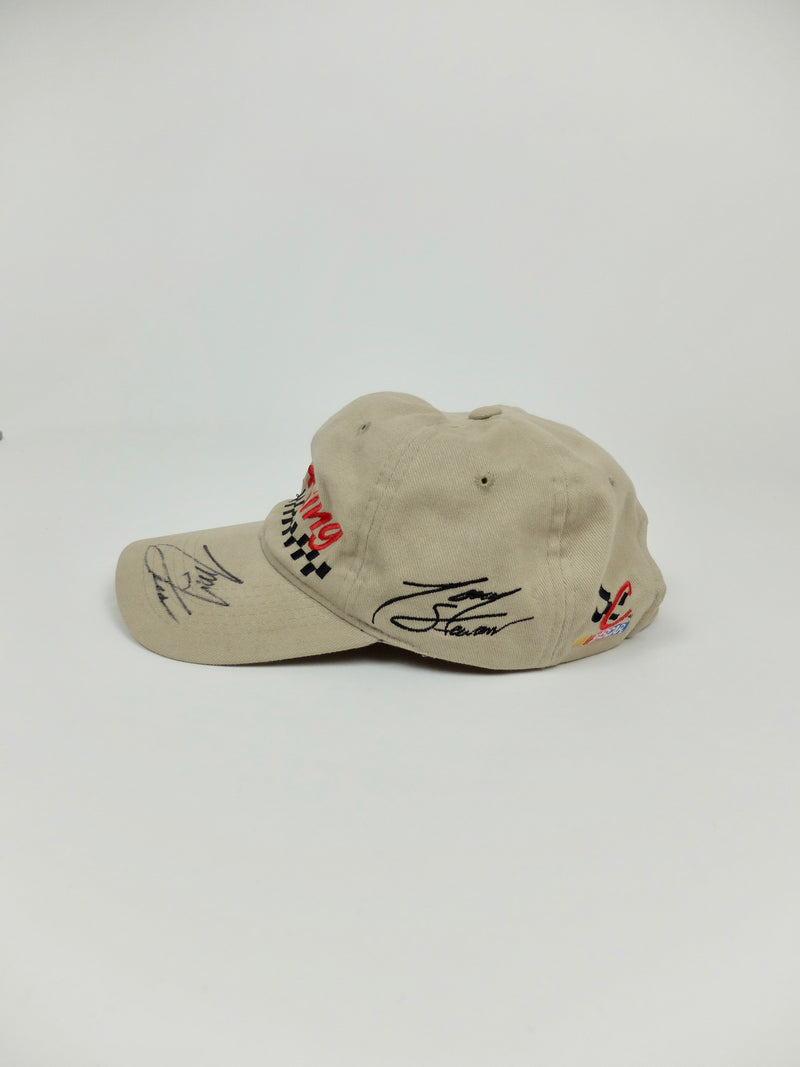 90s TC Exclusive Signed Tony Stewart NASCAR Home Depot 1999 Race Baseball Cap