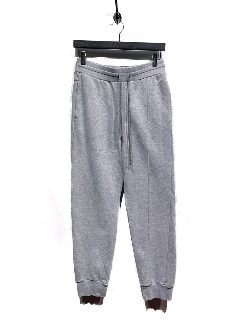 Pinko Grey Logo Sweatpants
