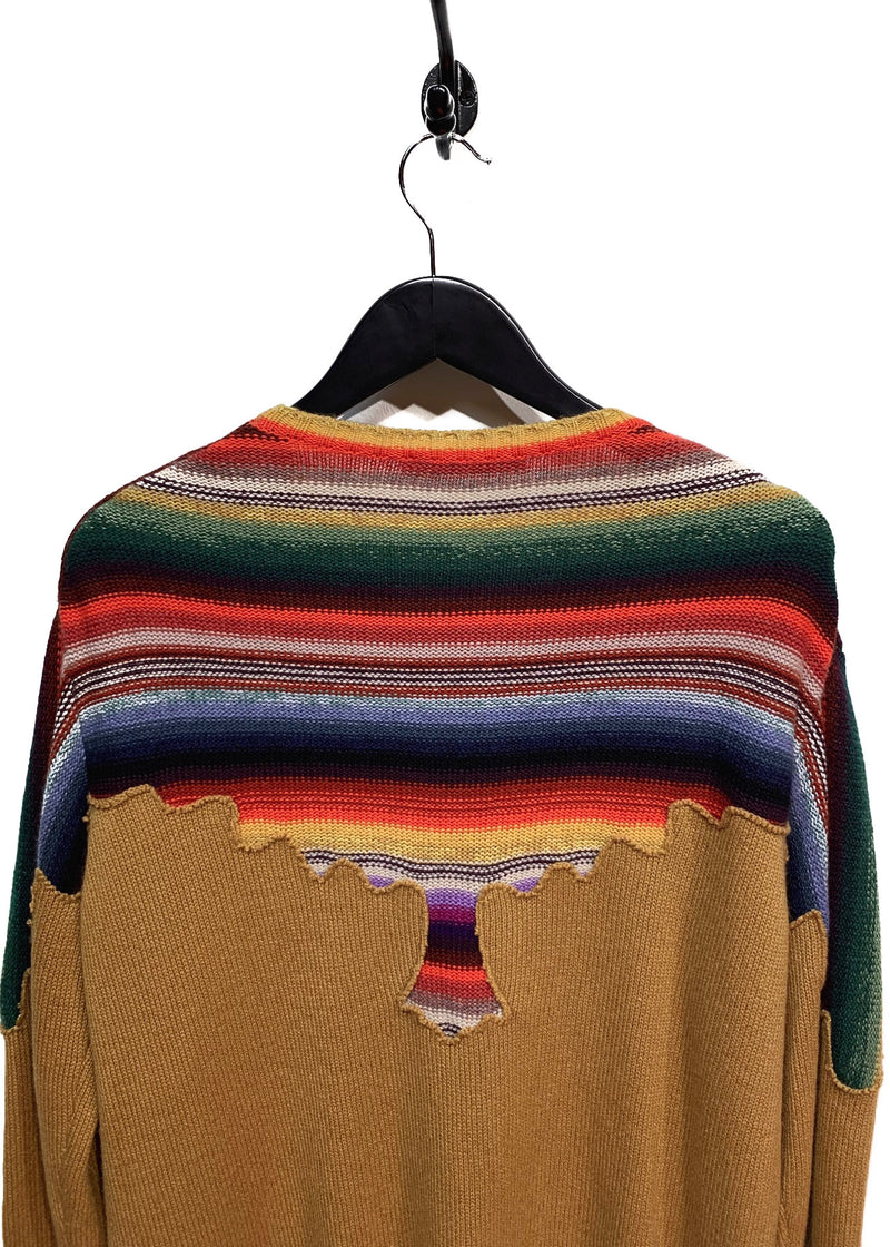 Christian Dior Multicolor Cashmere Sweater