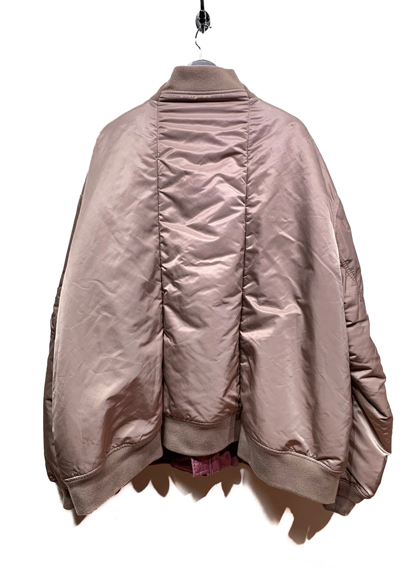 Vêtements X Alpha Industries FW18 Reversible Beige Oversized Bomber