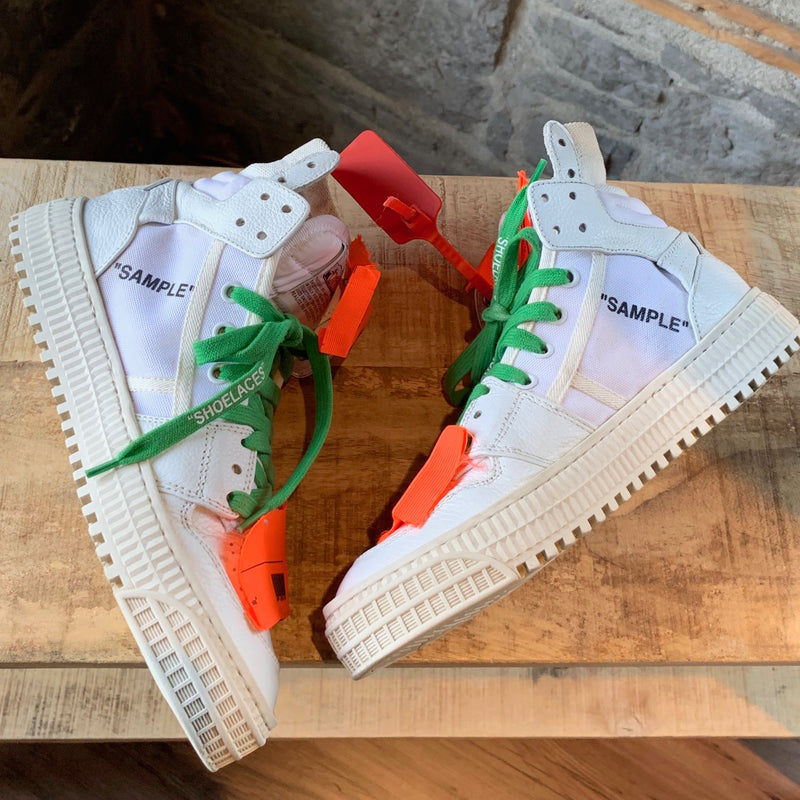 Off-White X Virgil Abloh White Low 3.0 Sneakers