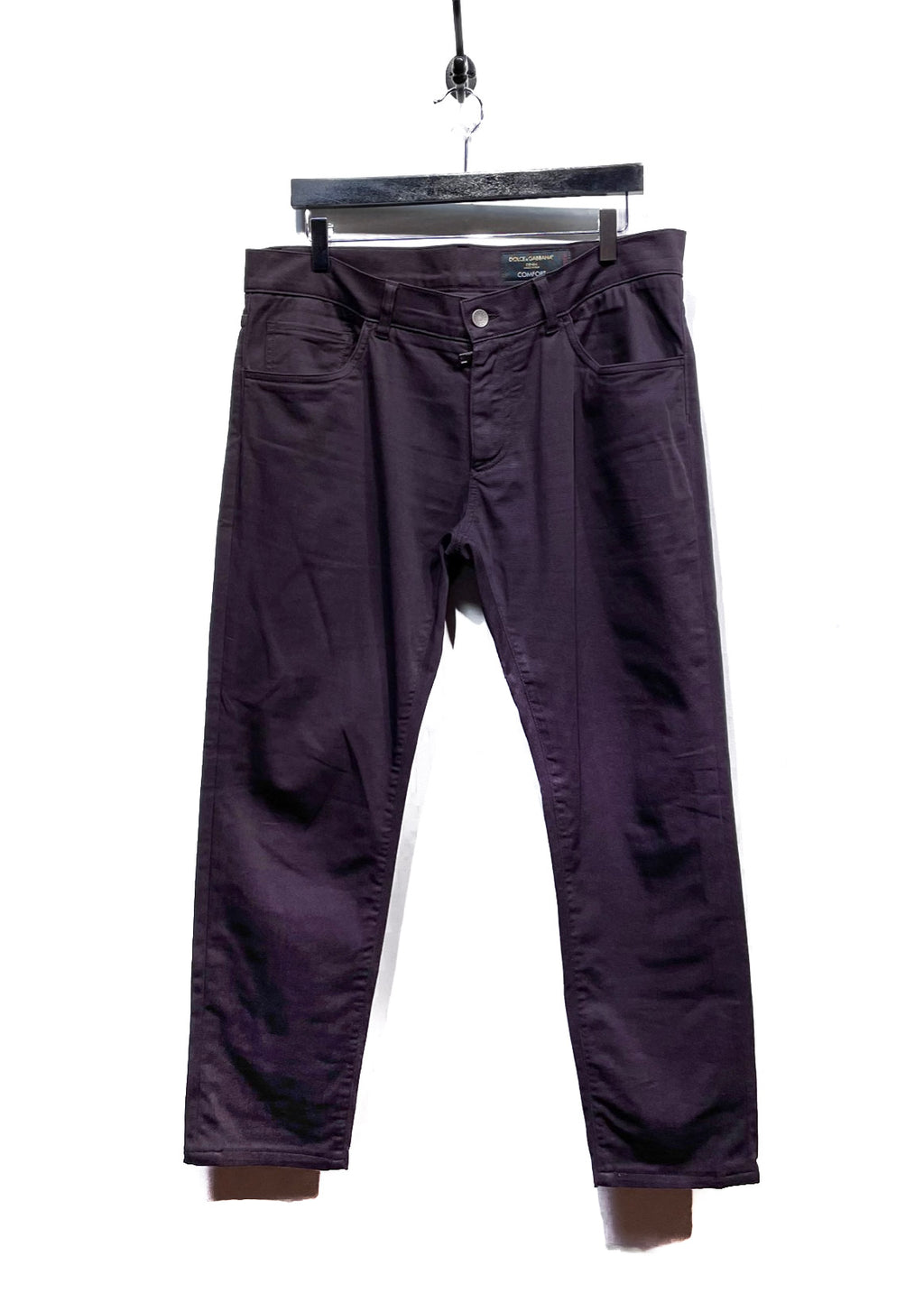 Dolce & Gabbana Purple Comfort Stretch Denim