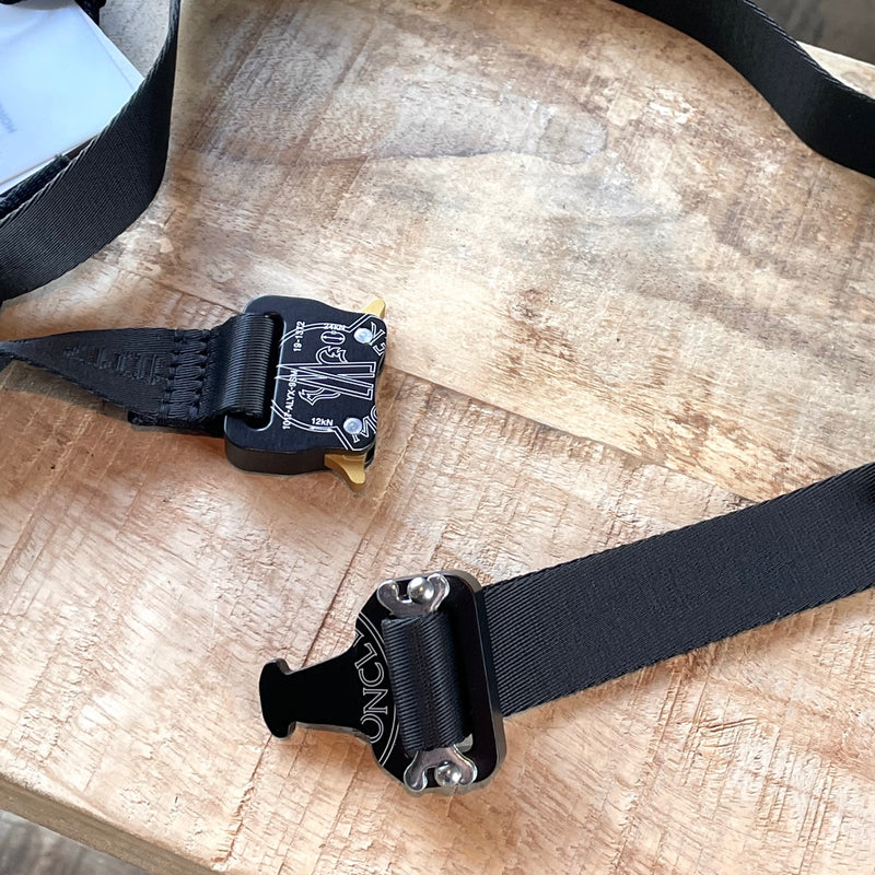Moncler Genius 1017 ALYX 9SM Black Buckle Belt