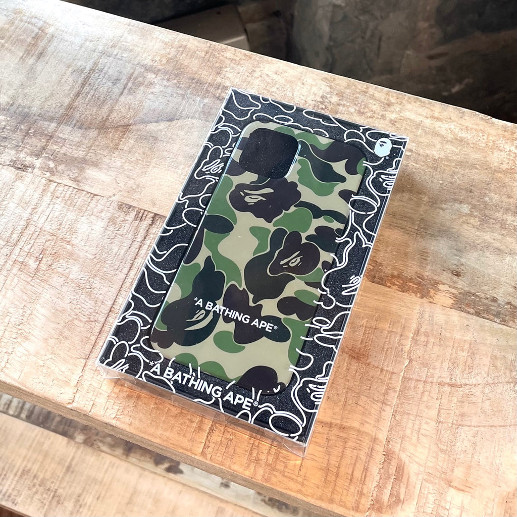 "Bape ABC Camo ""A Bathing Ape"" Green iPhone 12 / 12 Pro iPhone Cover"