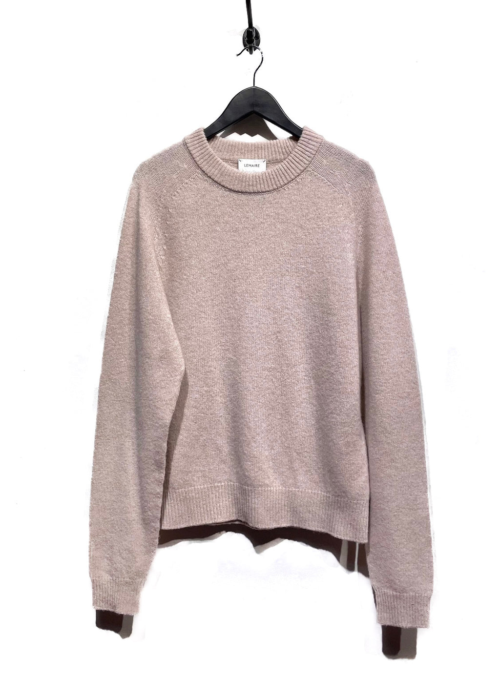 Lemaire Beige Wool Sweater