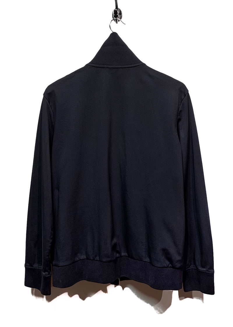 Acne Studios Black Flaus Zip-up Track Jacket