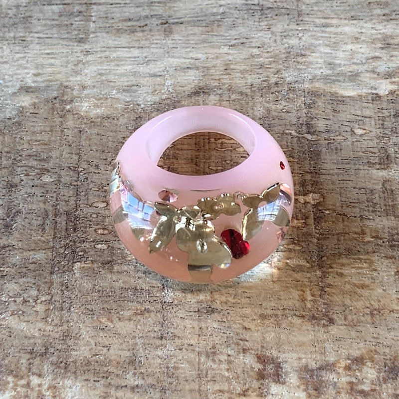 Louis Vuitton Inclusion Pink Ring