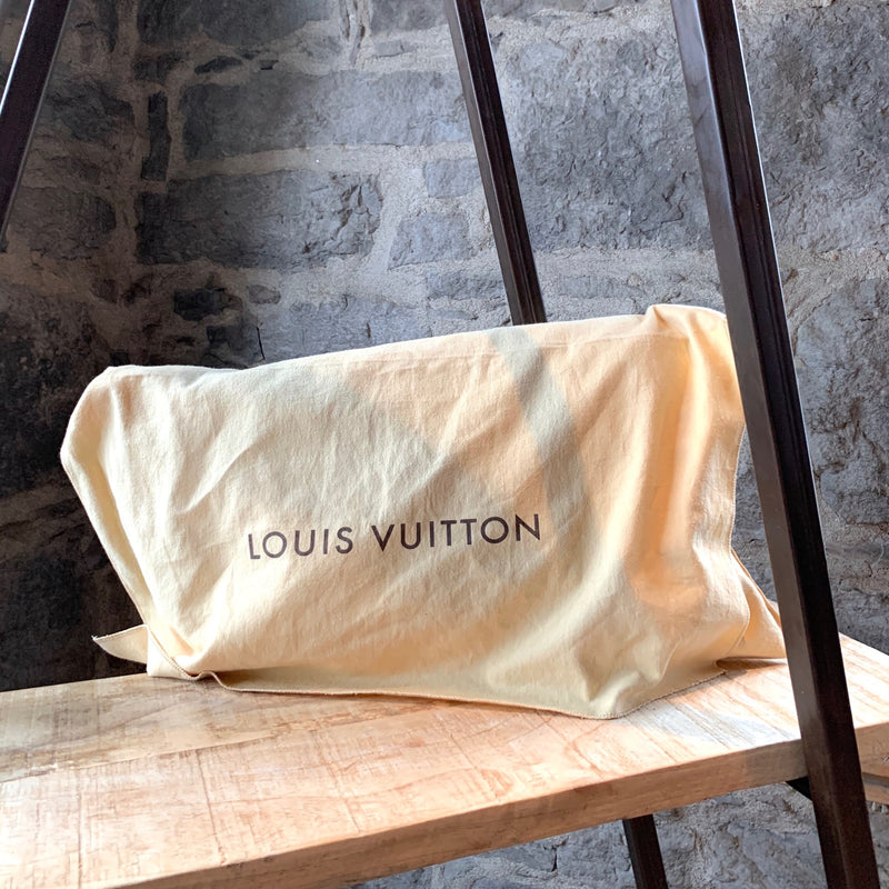 Louis Vuitton Black Epi Sac Verseau Shoulder Bucket Bag