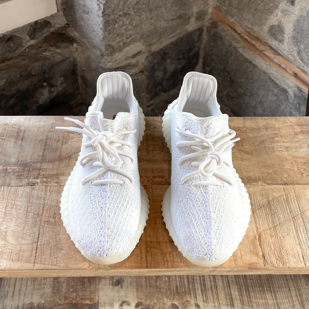 Yeezy Boost V2 350 Triple White Sneakers