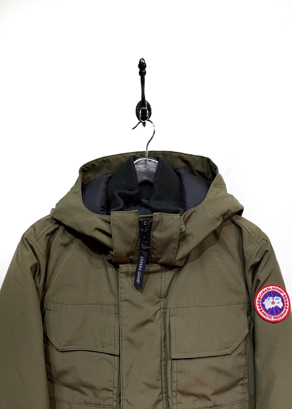 Canada Goose Military Green Maitland Down Filled Parka
