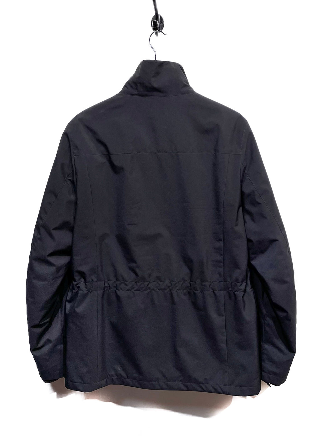 Prada Linea Rossa Black Convertible Windbreaker Jacket
