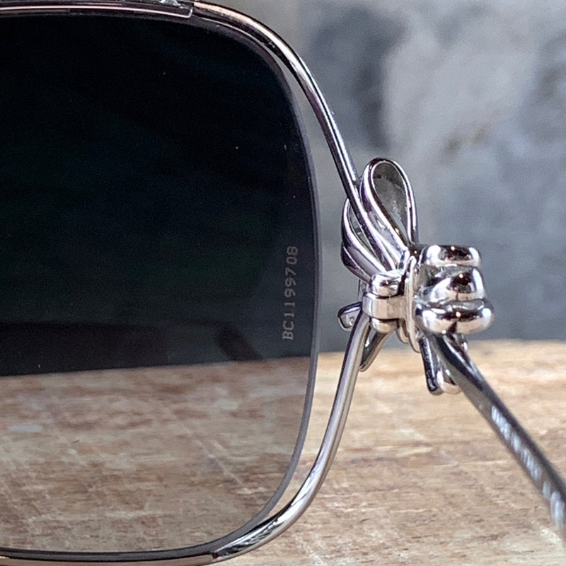 Chanel 4180 Tinted Bow Silver Sunglasses