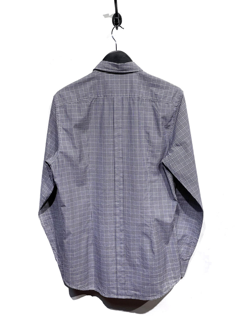 Dolce & Gabbana Houndstooth Combo Gold Fit Shirt